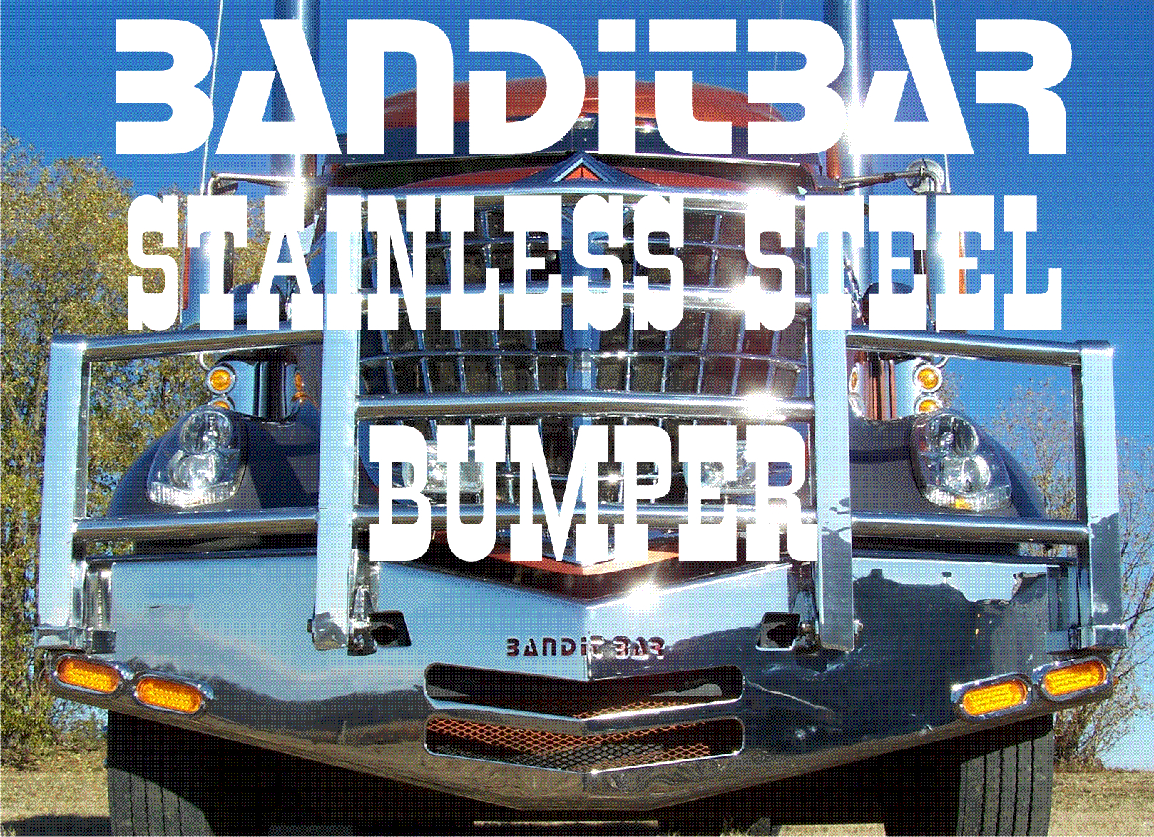 link to Bandit Bar stainless steel bumpers